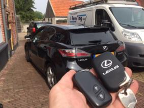 Lexus CT200H 2012 key-less Autosleutel